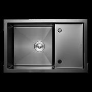 Кухонная мойка из нержавеющей стали Gerhans K37850B-Х (780х500 мм) с PVD покрытием