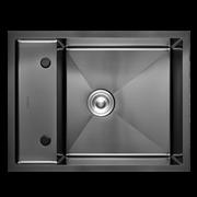 Кухонная мойка из нержавеющей стали Gerhans K36550B-Х (650х500 мм) с PVD покрытием