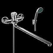 WISENT 22215 смеситель для ванной с изливом 40 см. и душем