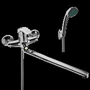 WISENT 22212 смеситель для ванной с изливом 40 см. и душем