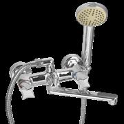 Смеситель для ванной с изливом 20 см и душем WISENT 3187