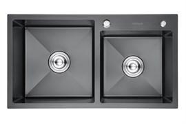 Кухонная мойка из нержавеющей стали Gerhans RK37843B-S