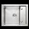 Кухонная мойка из нержавеющей стали Gerhans K36050-Х (600х500 мм) - фото 10226